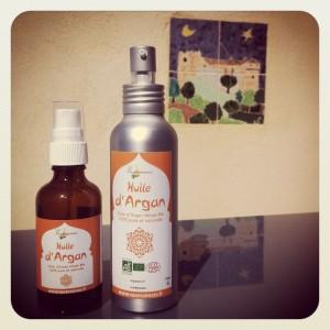 Huile d'Argan vierge cosmétique Bio - Vanessences