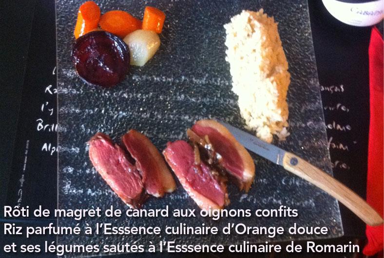 magret-canard-riz-essence-culinaire-orange-douce--legumes-sautes-essence-culianire-romarin