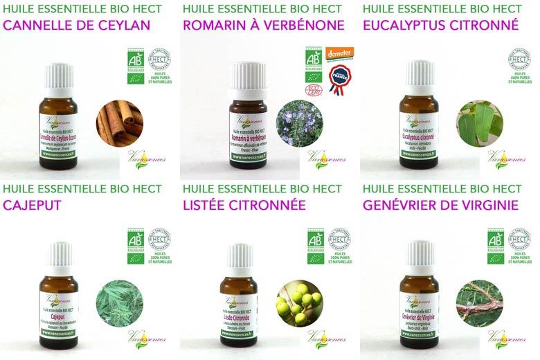 huiles essentielles bio vanessences