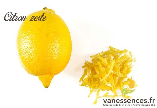 essence de zeste de citron